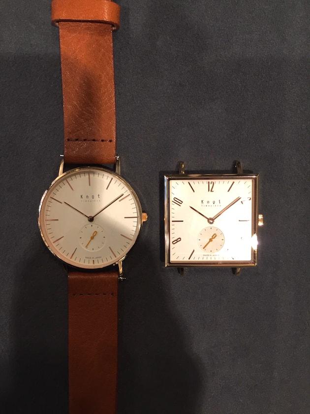 ノットとルノータスの時計