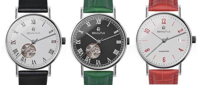 ルノーたタスのカスタム時計