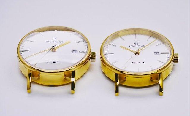 ルノータスのカスタム時計