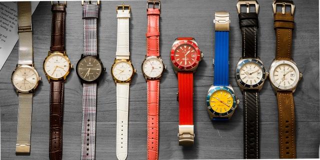 ルノータスの時計の多くの種類
