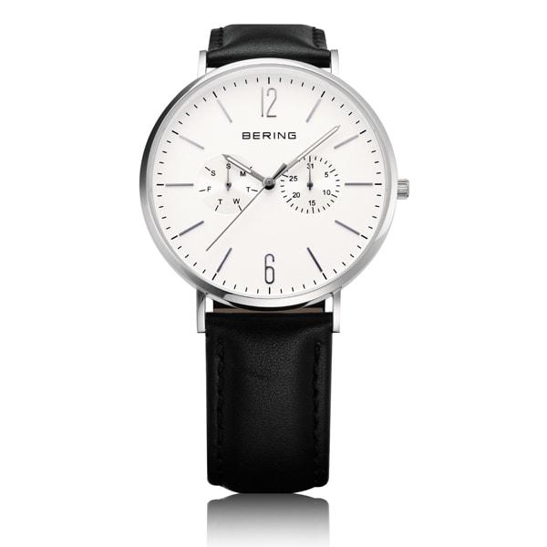 ベーリングの社会人用の白の時計