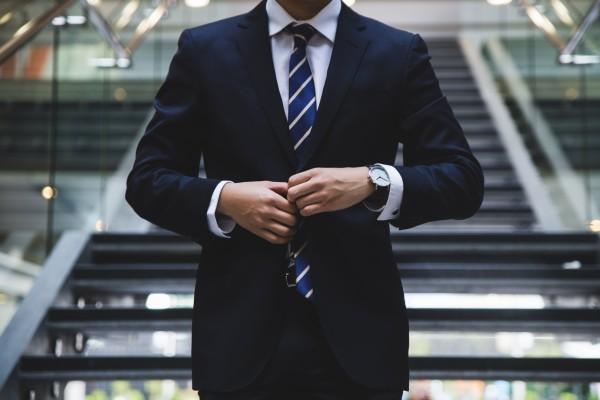 ビジネスマン、時計