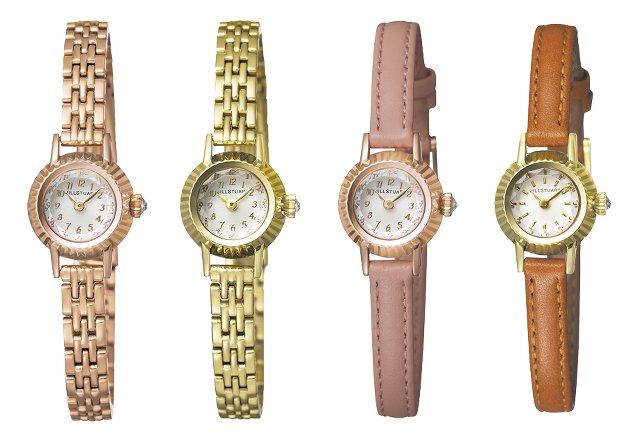 ジルスチュアートの華奢な時計