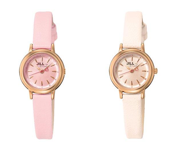 ジルバイジルスチュアートの華奢で小さいピンクの時計