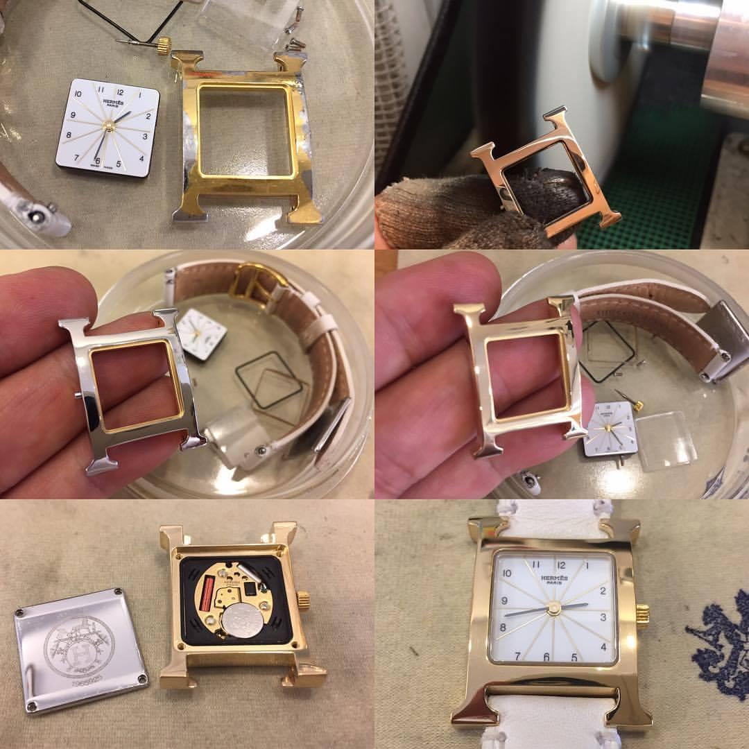 福井県で時計の修理やオーバーホールを行なっているガイドー