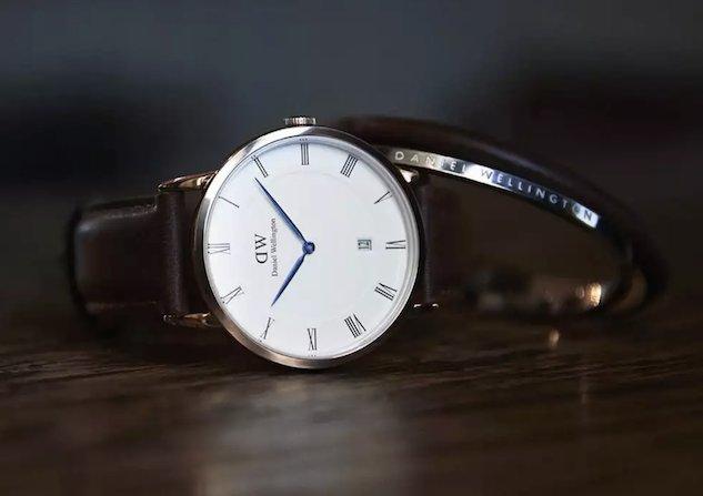 ダニエルウェリントン、バングルとダッパー時計