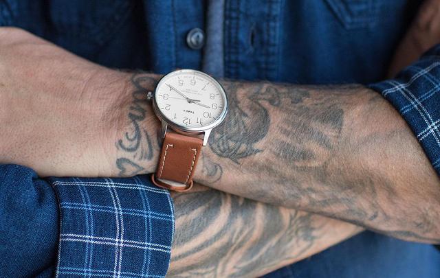 タイメックス メンズ時計 着画イメージ