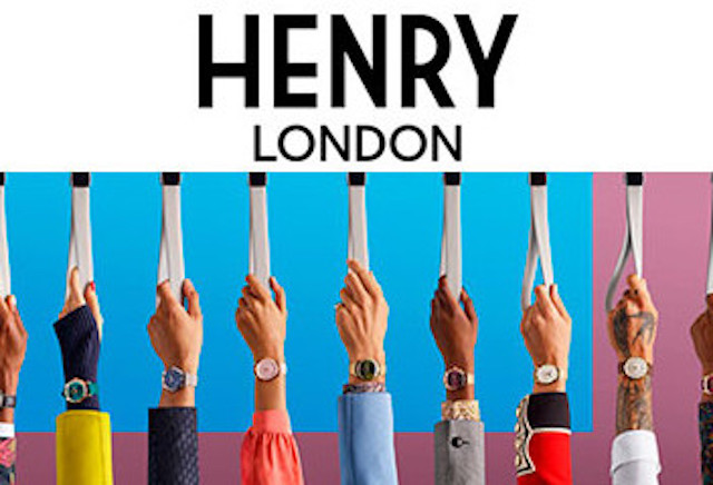 ヘンリーロンドン  メンズ時計 イメージ