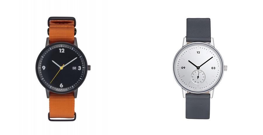 イノベーター 腕時計 オレンジ 黒