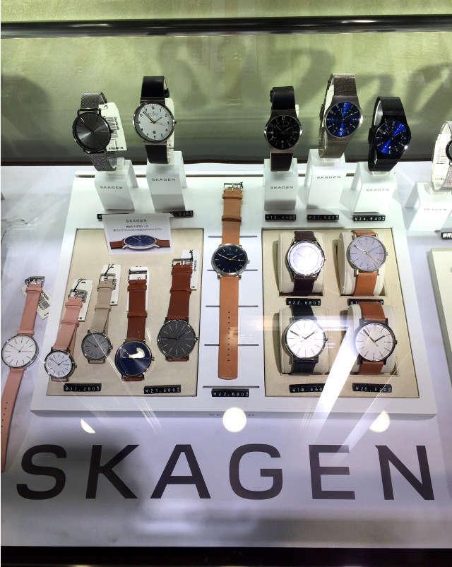 スカーゲン メンズ時計 数種類