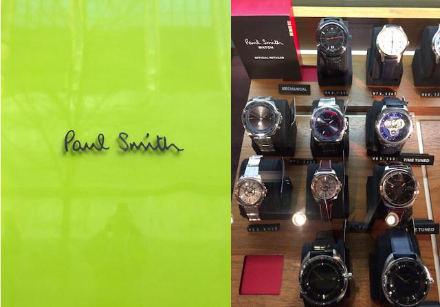 ポールスミス メンズ時計 イメージ
