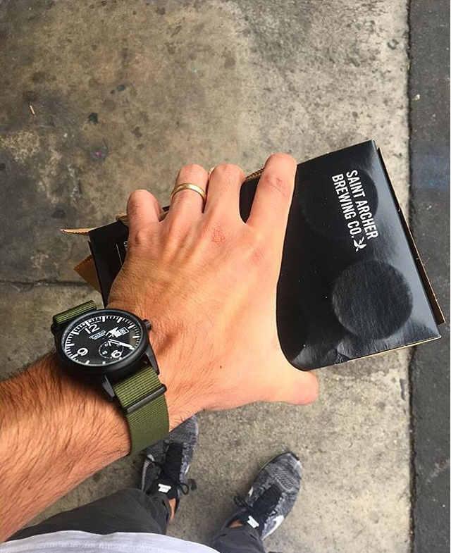 テクネ メンズ時計 着画イメージ