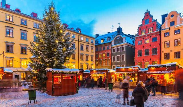スエーデン 冬 雪