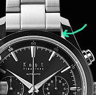 knotのオートマチッククロノグラフ時計