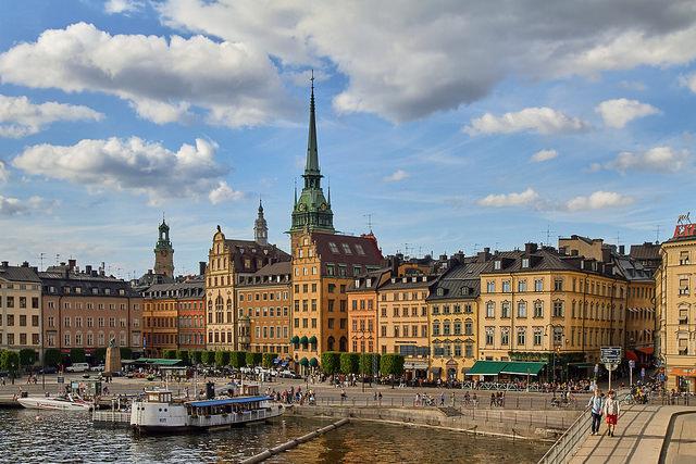 スウェーデンの街並