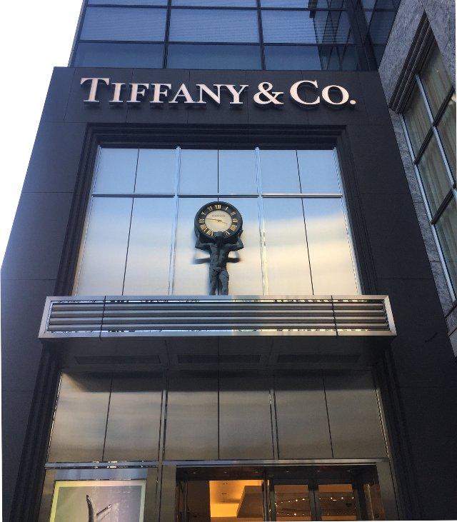 ティファニーの東京丸の内店