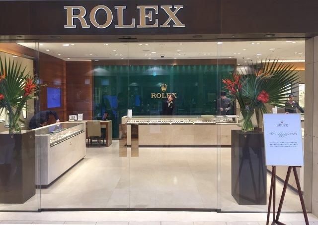 ロレックス横浜店