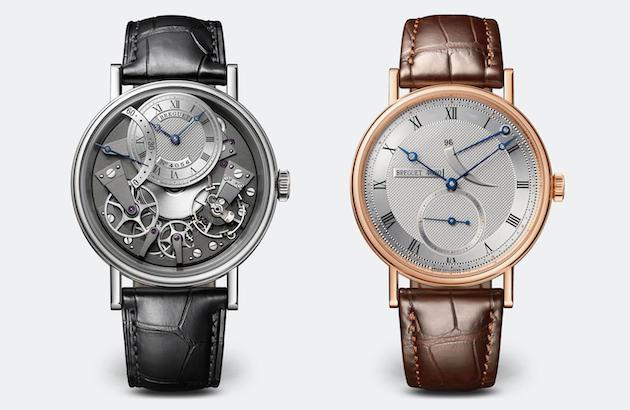 ブレゲの機械式時計