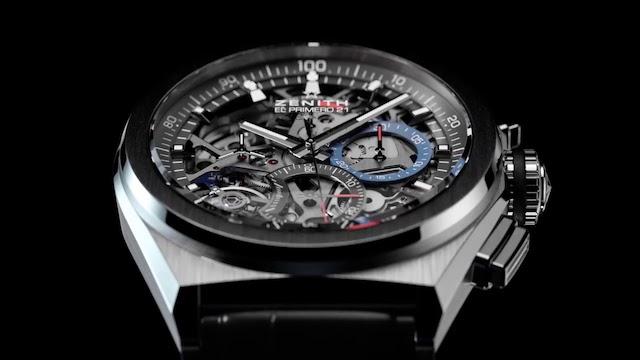 ゼニスの機械式時計「エルプリメロ