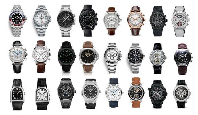 知っておきたい有名機械式時計、40ブランド纏め!