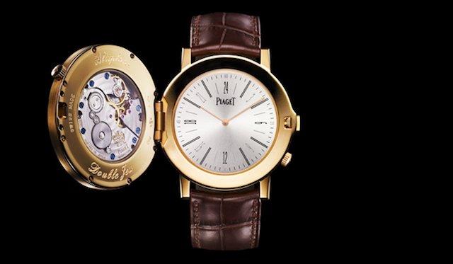 ピアジェの時計アルティプラノのダブル・ジュー