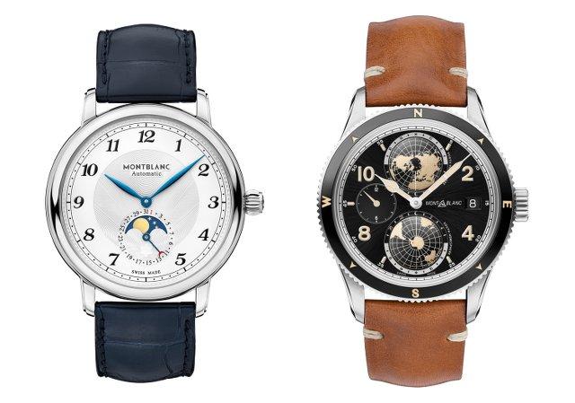 モンブランの機械式時計