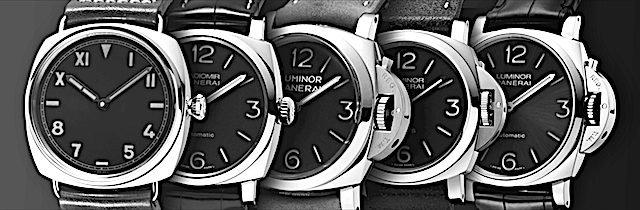 パネライの時計種類