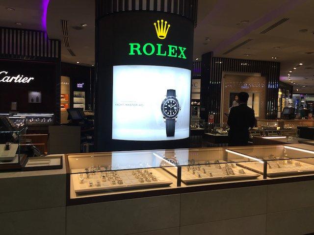 海外のロレックスの店舗