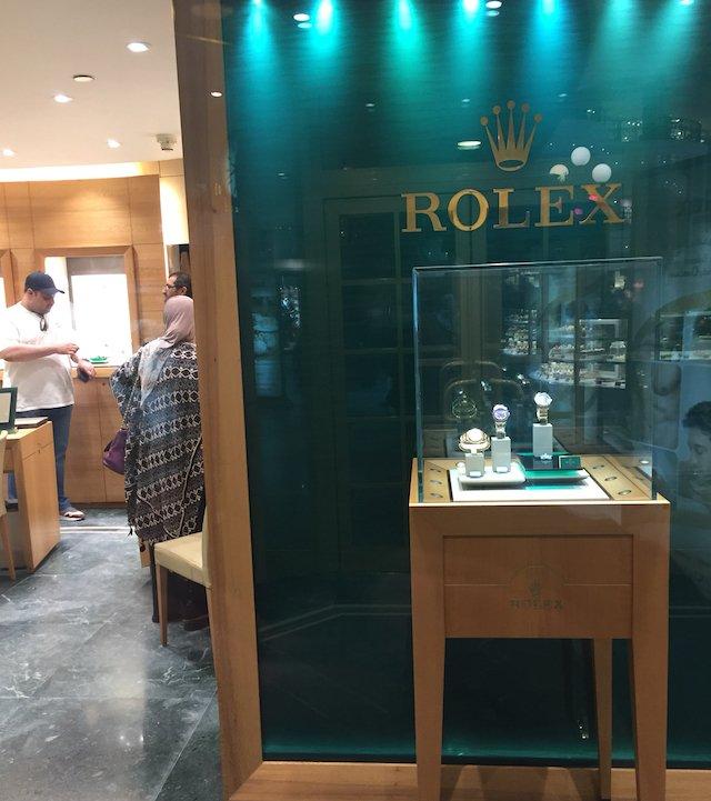 エジプロのカイロのロレックス店舗