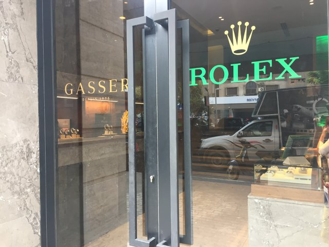 ロレックスの海外のお店エジプト