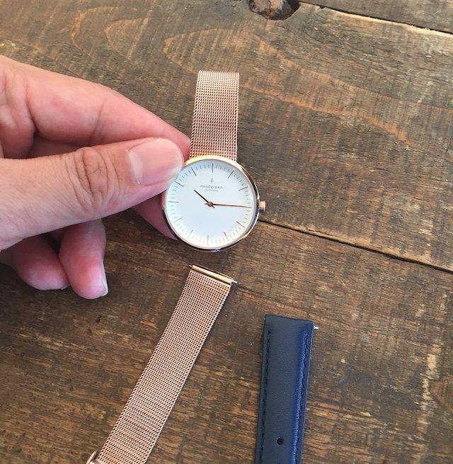ノードグリーン の時計ベルト交換
