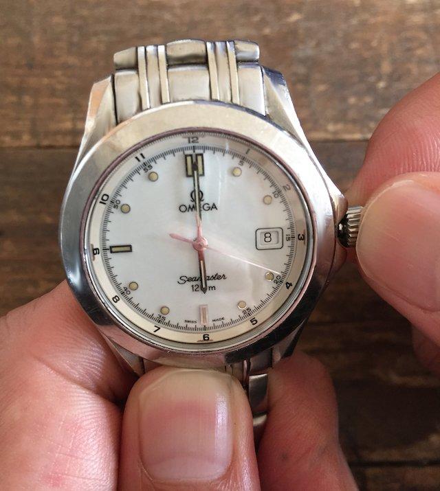 オメガ機械式時計の日付禁止時間