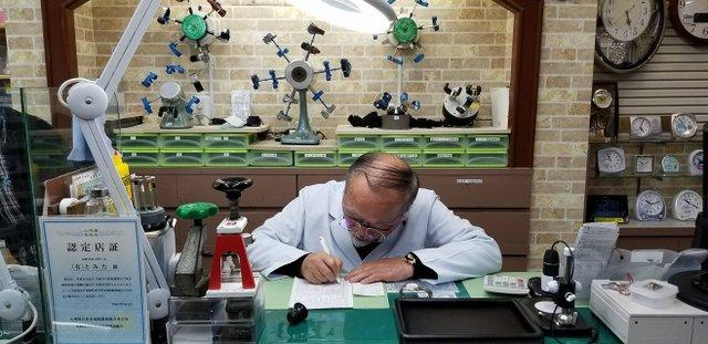 長崎県で時計のオーバーホールを行なっている修理専門店、長崎時計修理センター(とみた時計眼鏡店)