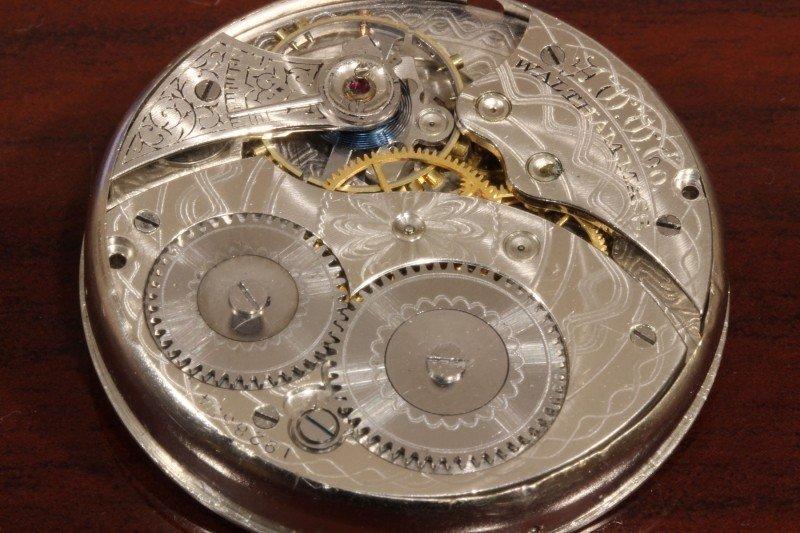 懐中時計のオーバーホール