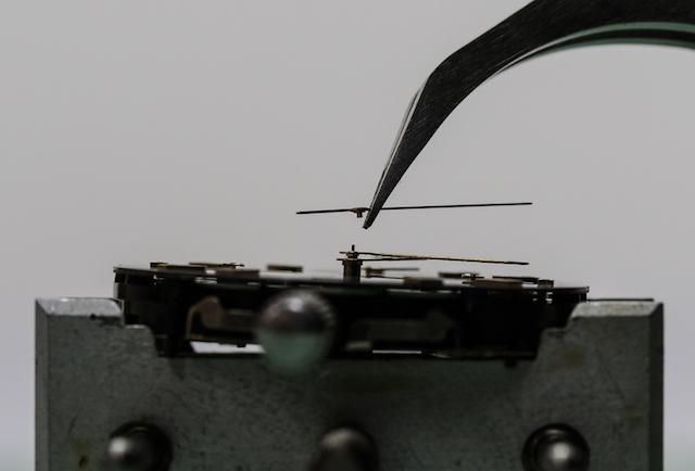 クロノグラフのクロノ針がズレる(機械式時計)