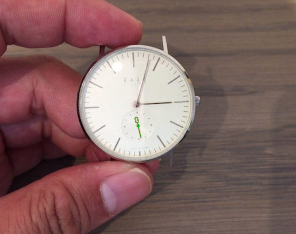 時計の針の呼び方、秒針