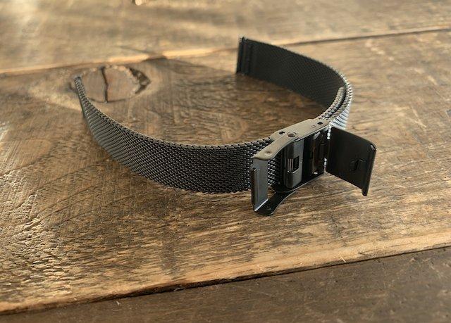 スライド式の時計ベルト