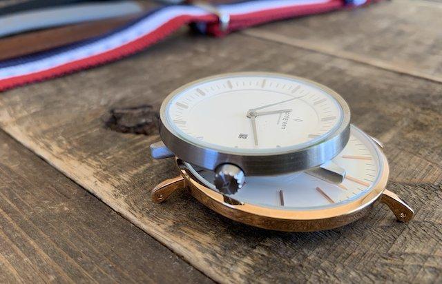 時計のノードグリーン、ラグある物と無いもの