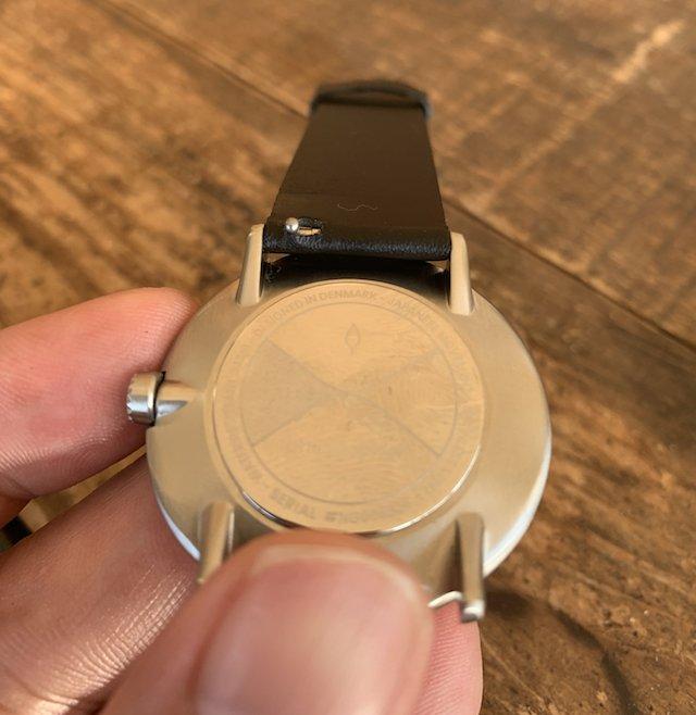時計のベルトをイージークリック改造した