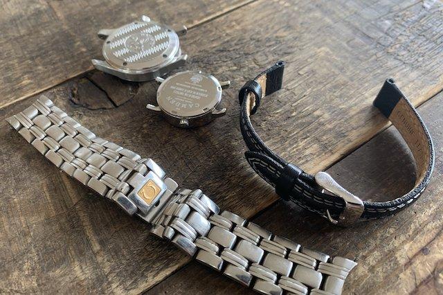 時計のスクリューバックの外し方ゴムボールやオープナー