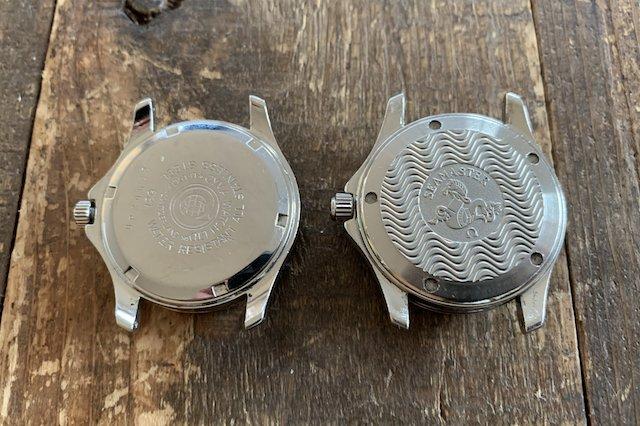 スクリューバックオメガ、ねじ込み式の時計の裏蓋の外し方や電池交換