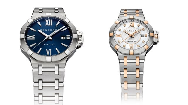 コンコルドのメンズ時計とレディース時計