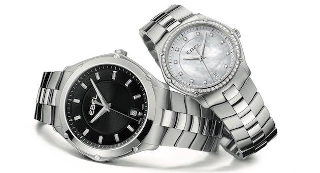 エベル の時計、レディースホワイトとメンズブラック