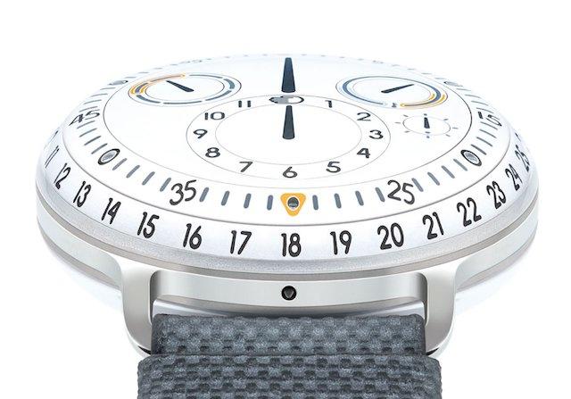 ressencewatches、type-3の個性的な機械式時計