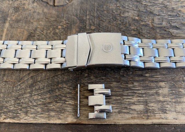 割れピンのメタルベルトの調節方法