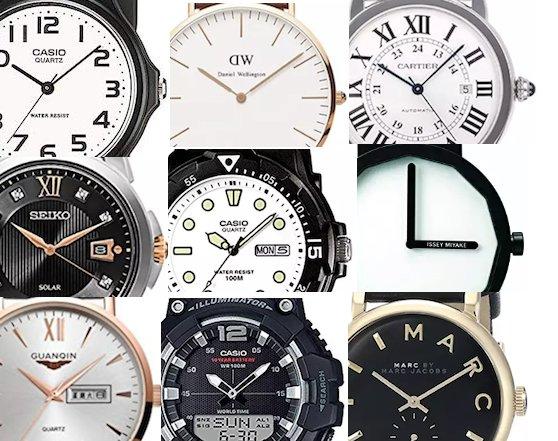 時計のインデックスとは?どんな種類のデザインがあるの?