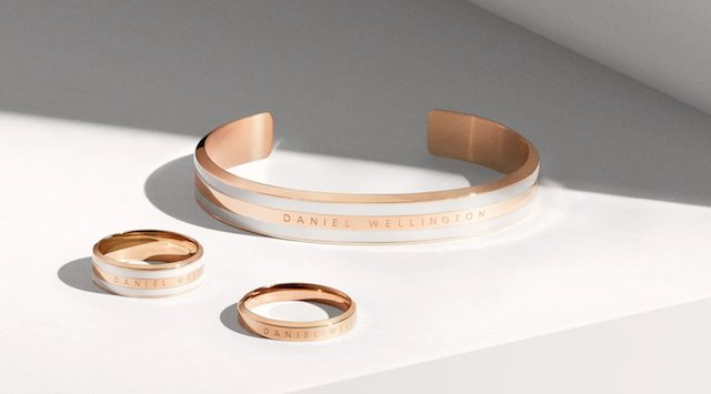 ダニエルウェリントンのアクセサリー指輪やバングル、ブレスレット