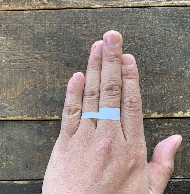 指輪のサイズの測り方、簡単に