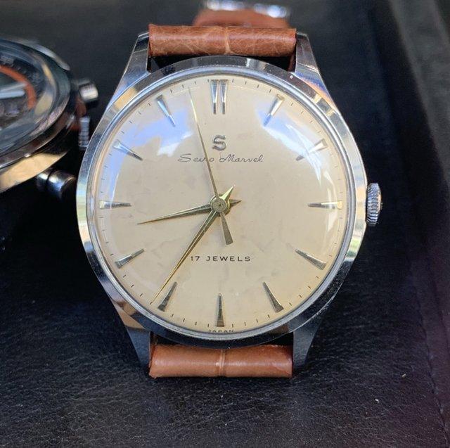 セイコーアンティーク時計の修理