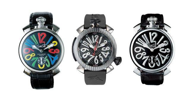 ガガミラノのマヌアーレの手巻き時計とダイビング